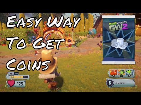 Plants vs. Zombies : Garden Warfare 2 - EASY WAY TO GET COINS!