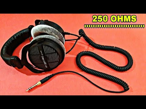 How to Check Headphone's Ohms (DT 990 pro)