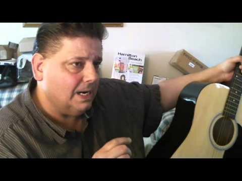Frank Gets A Good Deal On A Fender Acoustic Guitar..