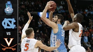 North Carolina vs. Virginia ACC Basketball Tournament Highlights (2018)
