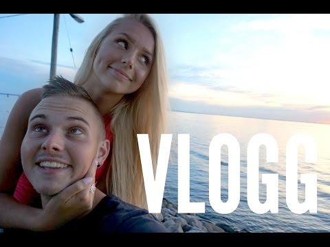 Pojkvännen vloggar ! Typisk sommardag i Malmö | VLOGG