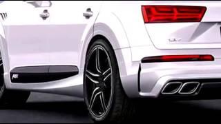 Audi SQ 7 2016 ABT New Audi Q7 S Line Tuning 2016