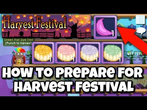 Harvest Festival ( How To Prepare ) | Growtopia