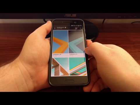 HTC 10: Change the Lock Screen Wallpaper