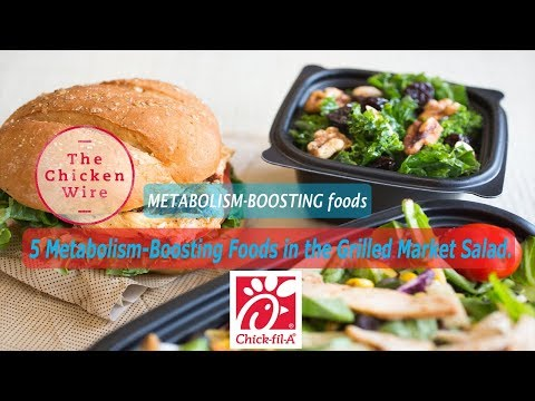 Metabolism-Boosting Foods from Chick-Fil-A|Chick-Fil-A Foods for Refueling After an Intense Workout.