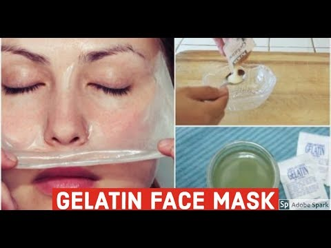 GELATIN FACE MASK: HOW TO MAKE YOUR OWN GELATIN FACE MASK
