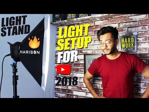 Best Budget Lighting Setup for YouTube 2018