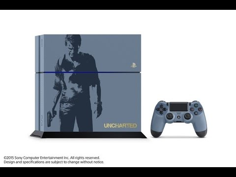 Uncharted 4 PS4 Limited Edition Bundle Announced