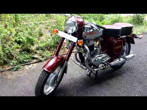 JAWA 250 FULLY RESTORED ENGINE SOUND (JAWA YEZDI GENUINE SPARES ARE