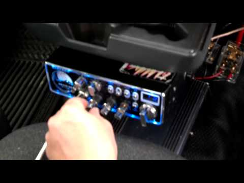 How to install a CB radio and linear.