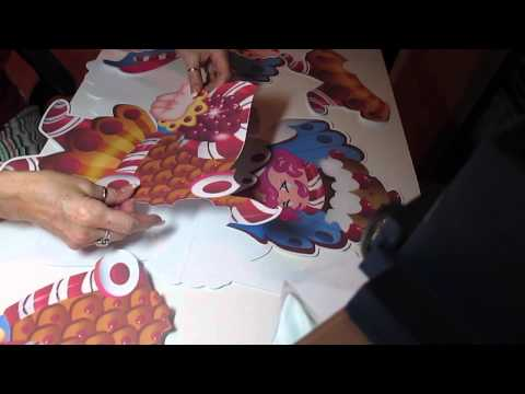 Candyland Party decorations DIY
