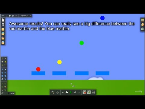 Marble Race Tutorials | Intermediate - Trampoline