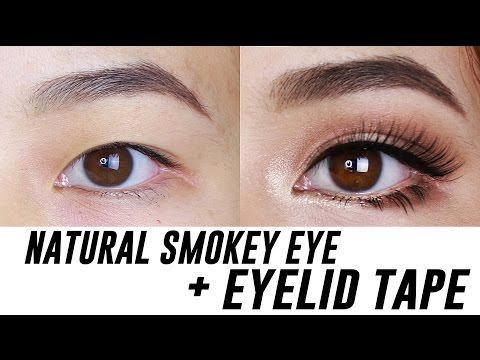 Smokey Eye Makeup for Small/ Hooded/ Monolid Eyes | Tina Yong