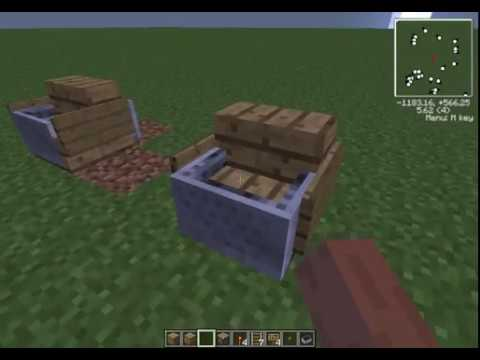 Minecraft Tutorial: How to make a working chair. (No mods) (Works on all versions)
