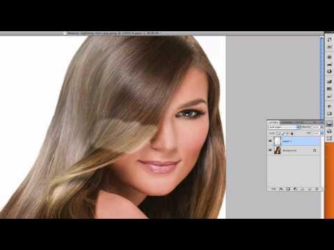 Photoshop CS4: Change Hair Color!