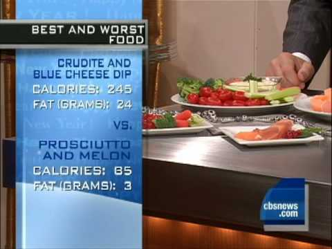 New Year: Avoiding Calories, Hangover