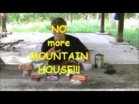 Mountain House Alternatives. Quick and Easy Canteen Cooking
