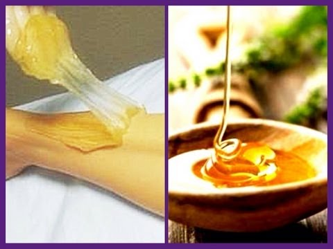 Sugaring! How to make sugar wax and a demo on how to use it!