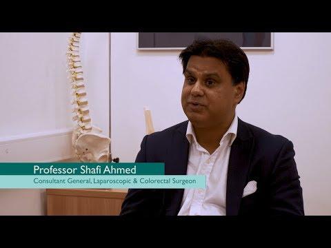 Shafi Ahmed & Hitesh Patel use the Microsoft HoloLens in surgery | BMI Healthcare