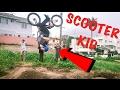 SCOOTER KID FLIPS A BMX