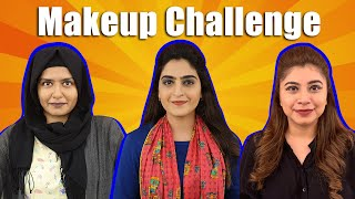 Bekaar Sundays | HUSBANDS did our Makeup | Makeup Challenge