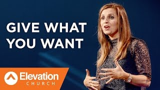 Give What You Want   The Other Half   Holly Furtick
