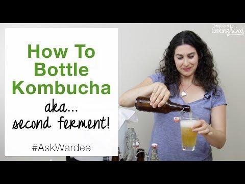 How To Bottle Kombucha... aka Second Ferment It! | #AskWardee 086