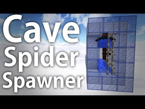 Minecraft | Cave Spider XP Farm (Bypass Entity Cramming for 1.11/1.12+)