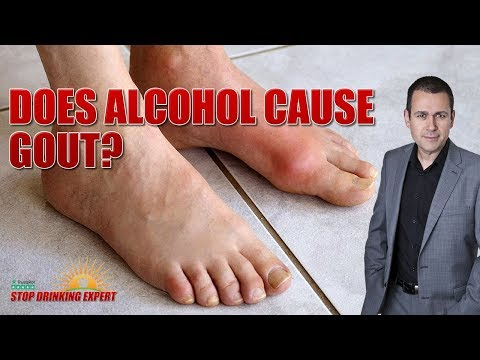 Does Alcohol Cause Gout? - Stop Drinking Expert