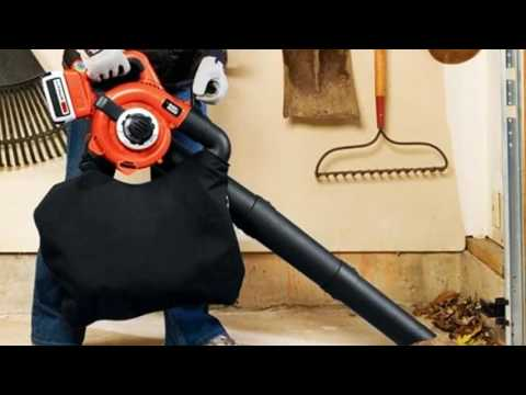Black and Decker Cordless Leaf Blower Reviews LSWV36 40 volt