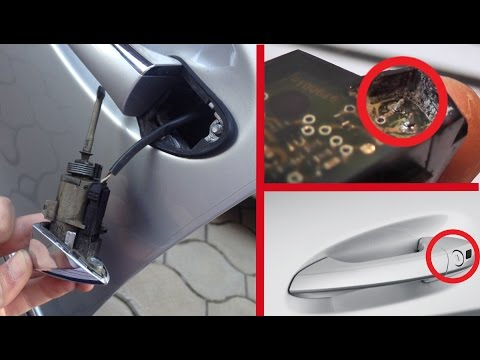 Repair the IR sensor for Mercedes / Does not work Summer Opening/Convenience Feature on Mercedes
