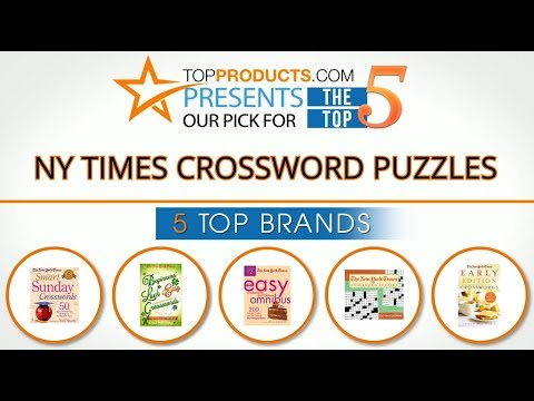 Best NY Times Crossword Puzzle Reviews 2017 – How to Choose the Best NY Times Crossword Puzzle