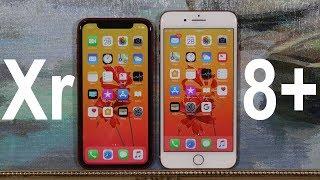 iPhone Xr vs iPhone 8 Plus - Full Comparison