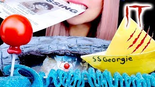 Download ASMR Eating Edible Balloon, Paper Boat, Drain   IT movie   Relaxing Eating Sounds Video