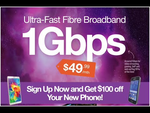 Home Ultra Fast Fibre Broadband 1Gbps $49.99