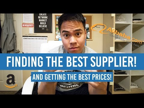 Amazon FBA Alibaba! How To Get The Best Prices Possible and Find A Quality Manufacture/Supplier!