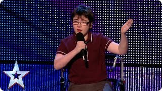 Jack Carroll has the Judges in STITCHES!   Britain