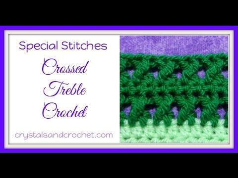 Crossed Treble Crochet