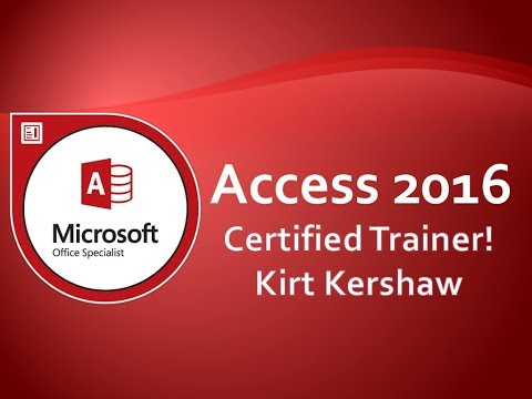 Microsoft Access 2016 Tutorial for Beginners – How to Use Access Part 10