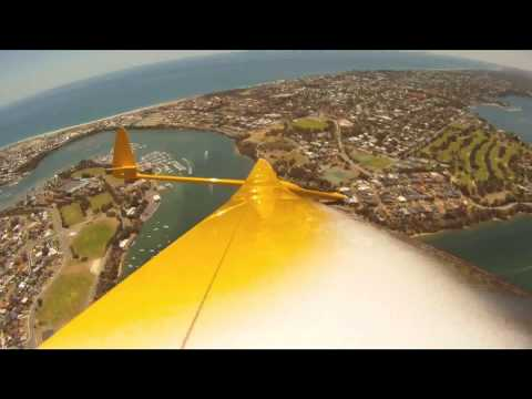 Radio Controlled Glider, Flying Over Swan River