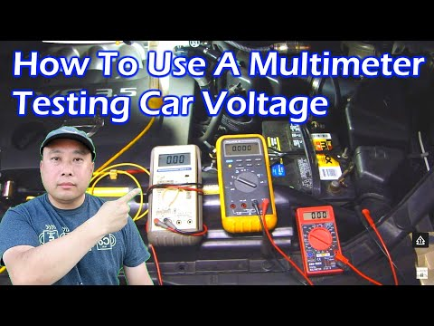 How To Use a Multimeter - Test Car Voltage - Video 2