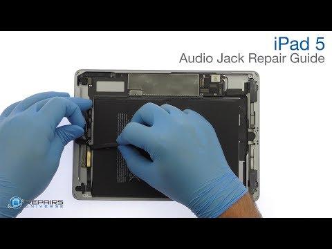 iPad 5 Headphone Audio Jack Repair Guide - RepairsUniverse
