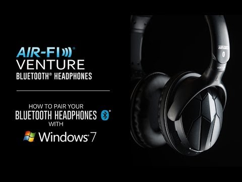 How to Pair Your Bluetooth Headphones with Windows 7 (MEE audio Venture)