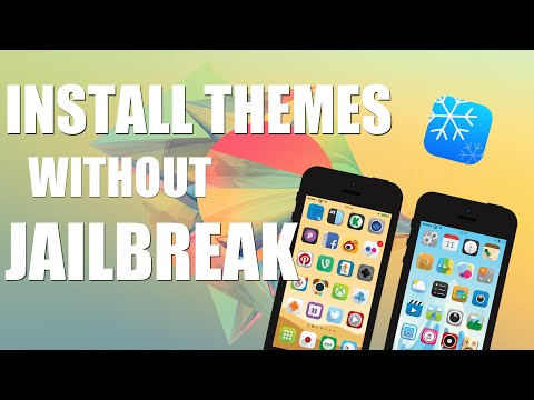 iOS 8: Install Themes (NO JAILBREAK) Winterboard Themes | iPhone, iPad, iPod Touch
