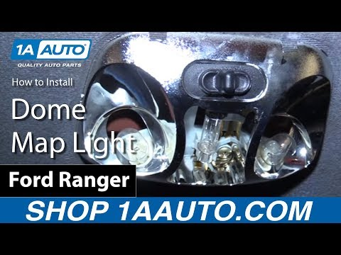 How to Install Replace Dome Map Light Bulbs 1998-03 Ford Ranger BUY QUALITY AUTO PARTS AT 1AAUTO.COM