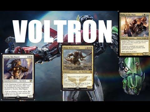 Top Ten MTG: Best Voltron Commanders