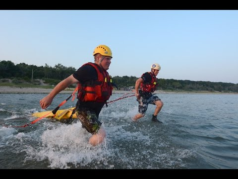Water training with Port Colborne Fire and Emergency Services
