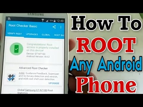 How To Root Android Phones Without Pc. [HINDI]