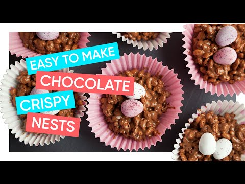 How To Make Easter Nests | Chocolate Rice Crispy Cakes | Channel Mum