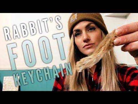 Rabbit's Foot Keychain DIY